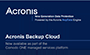Preventing Data Loss with Comodo ONE's Backup Cloud Solution – Acronis