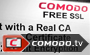 Free SSL Certificates by Comodo
